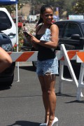 Christina Milian - 4th of July Rehersal and Concert at The Rose Bowl (7/4/15)