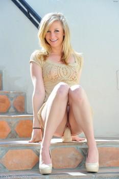 Big mature ass blonde